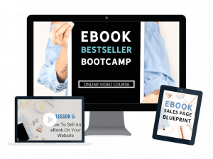 the eBook bestseller bootcamp by the she approach
