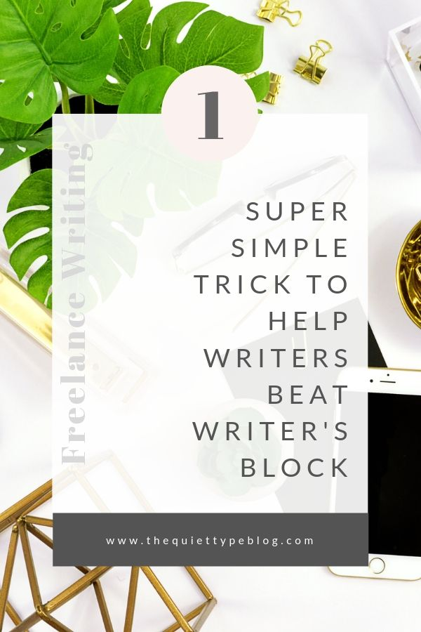 Struggling with writer's block? Here's how freelance writers can fix writer's block. | How to get past writer's block | Tips for overcoming writer's block | What to do when you have writer's block | How to deal with writer's block