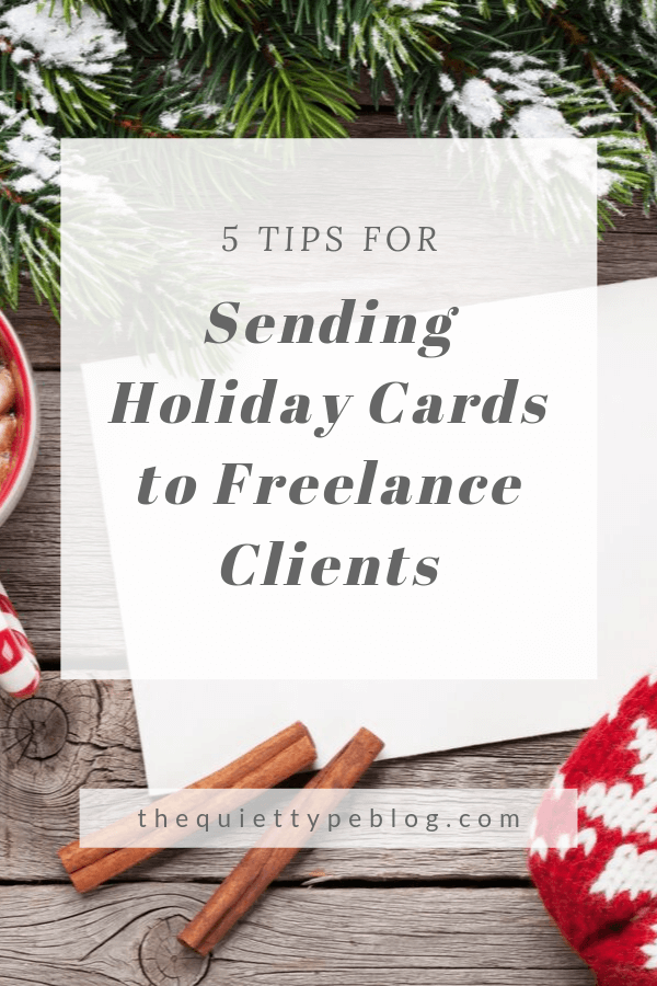 Go above and beyond this holiday season by sending holiday greetings to clients. A generic holiday greeting is the perfect way to send a holiday message to a freelance client. Here are 5 tips + what to write in a holiday card for a client!