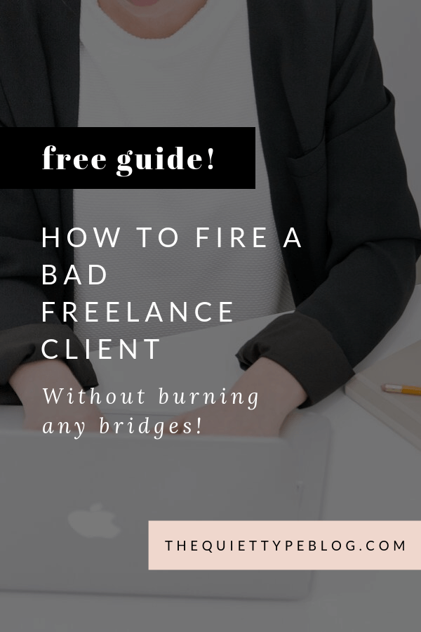 Breaking up isn't easy, especially when it means cutting ties with a client. The good news is, firing a bad freelance client doesn't have to be scary! Here's how to fire a client without burning any bridges.