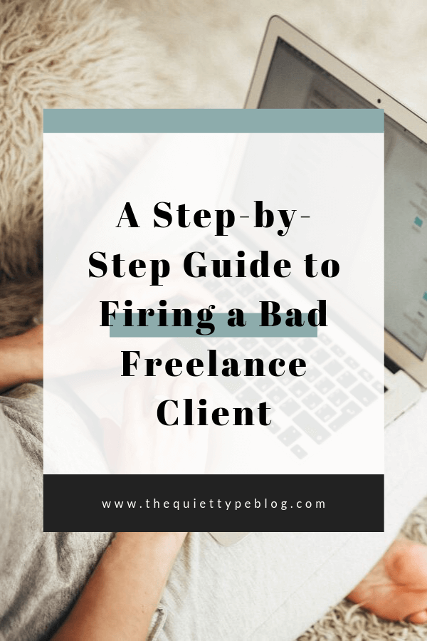 Check out this step-by-step guide on firing a client + grab your exclusive copy of The Client Breakup Roadmap! #freelancewriter #freelancewriting #businesstips #freelancebusiness