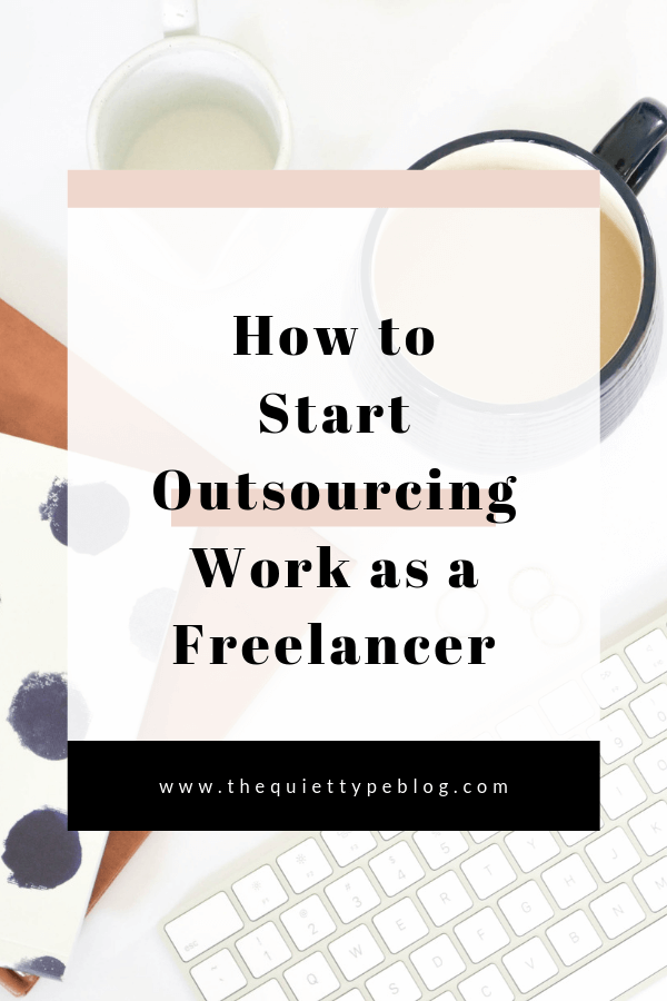 When to outsource work as a freelancer. How to outsource work as a freelance writer. Benefits of outsourcing work. Outsourcing for newbies. Make more money as a freelancer by outsourcing tasks.