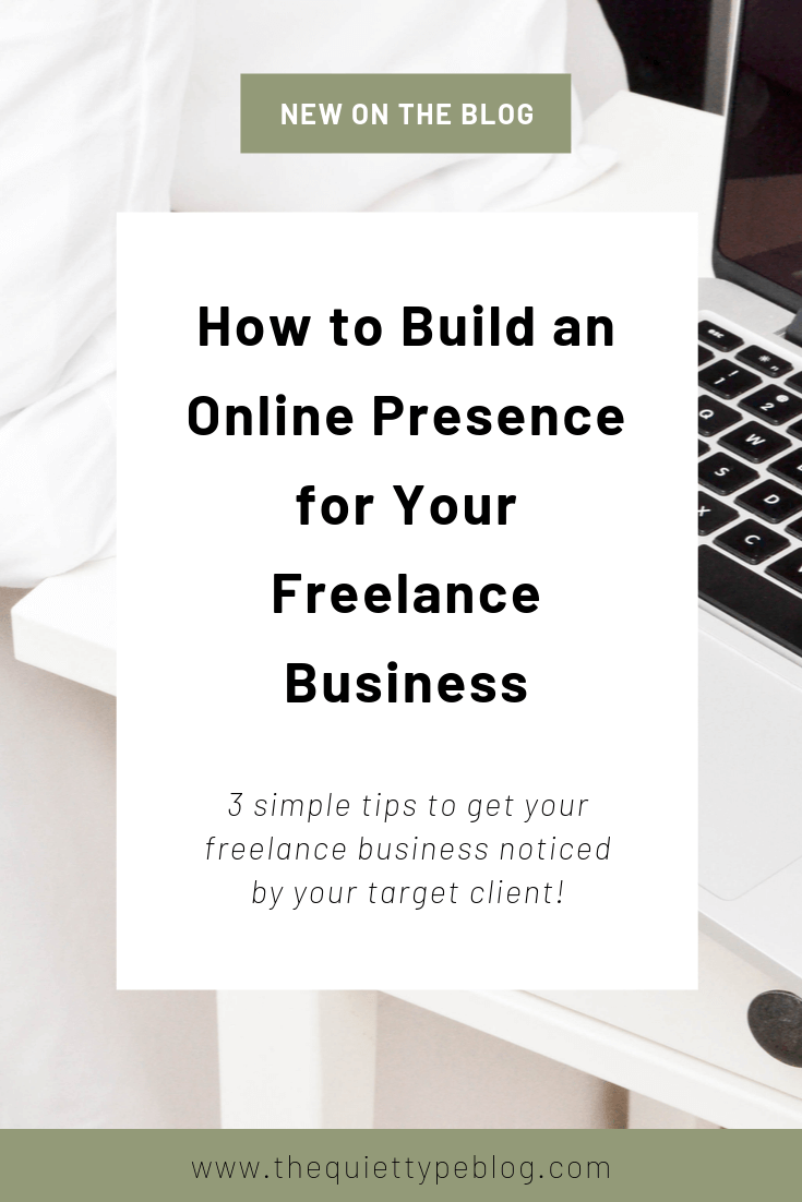 To grow your freelance business, you need to have an online presence. Check out these easy to implement tips to help your business get noticed online. #workfromhome #onlinebusiness #businesstips
