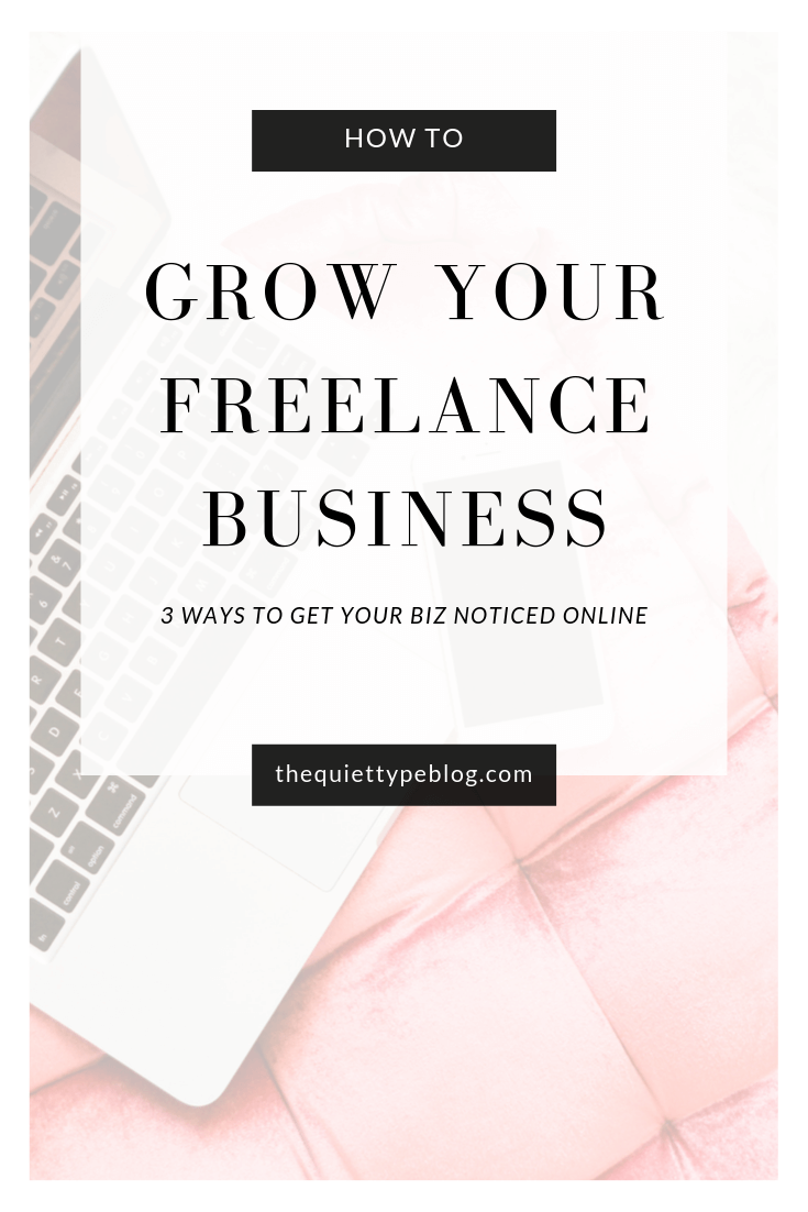 3 tips to help you build an online presence for your freelance business, find clients, and make more money working from home.