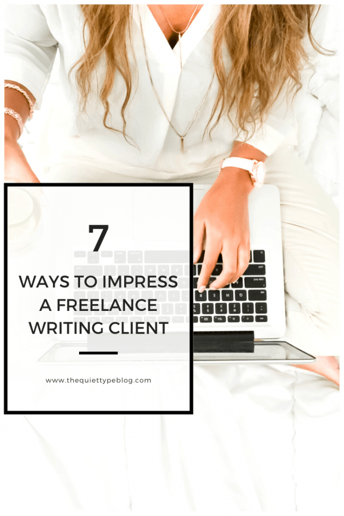 Here's how to impress a freelance writing client from start to finish and increase the chance of getting hired again in the future - or better yet, converting them to a long-term client!