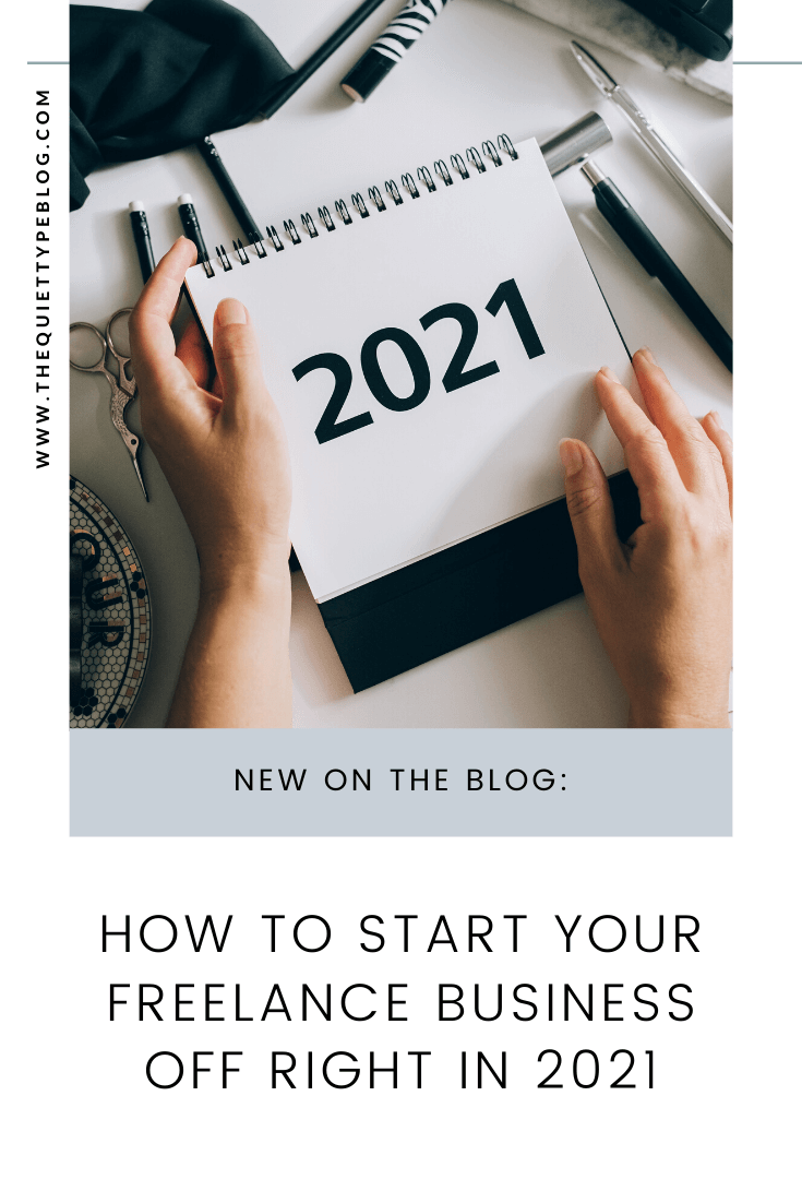 Make 2021 the best year yet for your business with these ten New Year's resolutions for freelancers and creative entrepreneurs!
