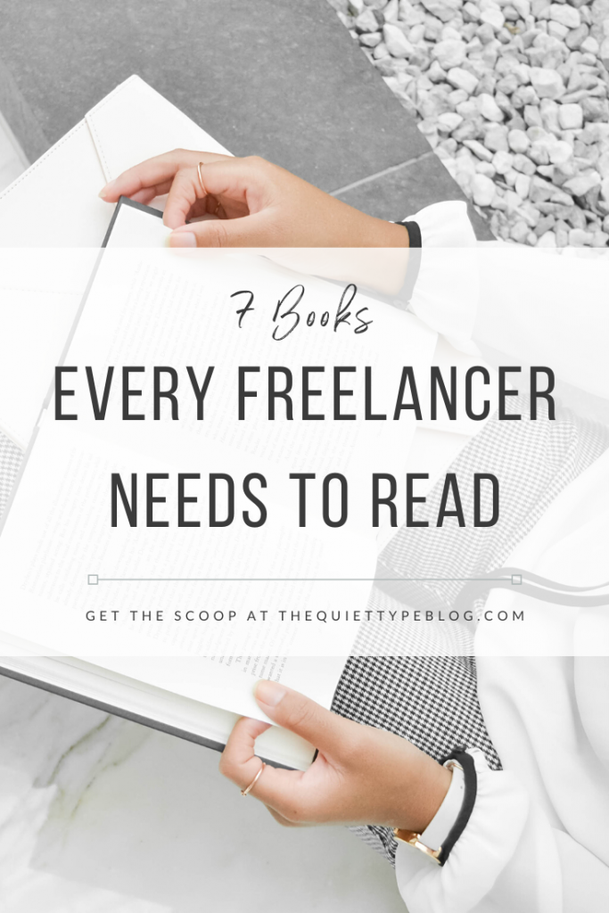 Looking for ways to help your freelance business grow? These seven books are chock full of tips, insight, and strategies to help you achieve both professional and personal success. #booksforfreelancers #freelancing #businesstips