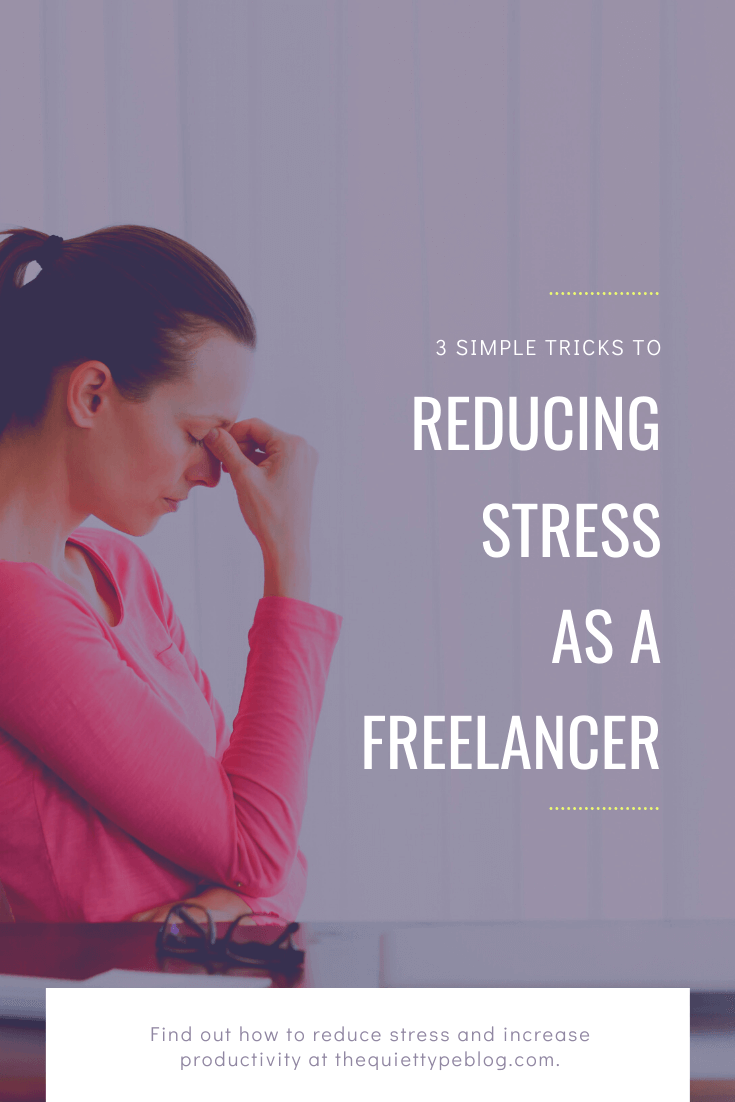 Freelancing has many benefits but if we're being honest, it can also be overwhelming. Learn how freelancers can reduce stress, boost productivity while working from home, and achieve work-life balance. #freelance #freelancebusiness #workfromhome