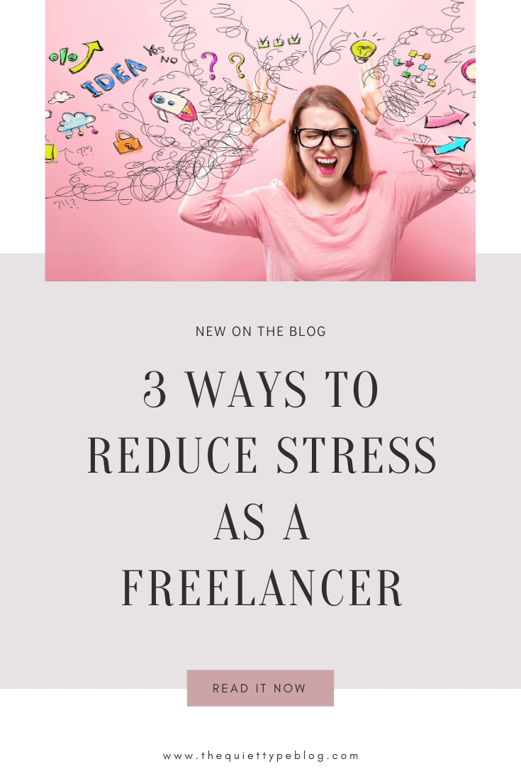 It's safe to say that trying to do all the things in your business can leave you feeling overwhelmed and stressed out. Luckily, it doesn't have to be that way! Use these three simple tips to learn to reduce stress as a freelancer and be more productive working from home.