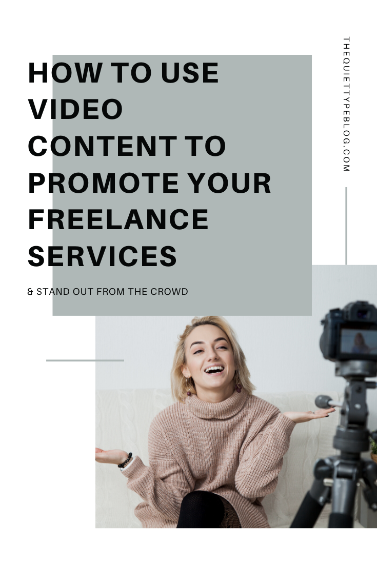 When it comes to marketing your freelance business, you need to think outside of the box. Using video content is a great way to promote your freelance service and stand out from the crowd. Here are five easy ways to use video in your marketing strategy.