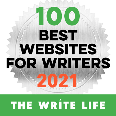 The Write Life's 100 Best Websites for Writers 2021 Badge