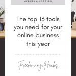 Top 13 Tools for Running an Online Business