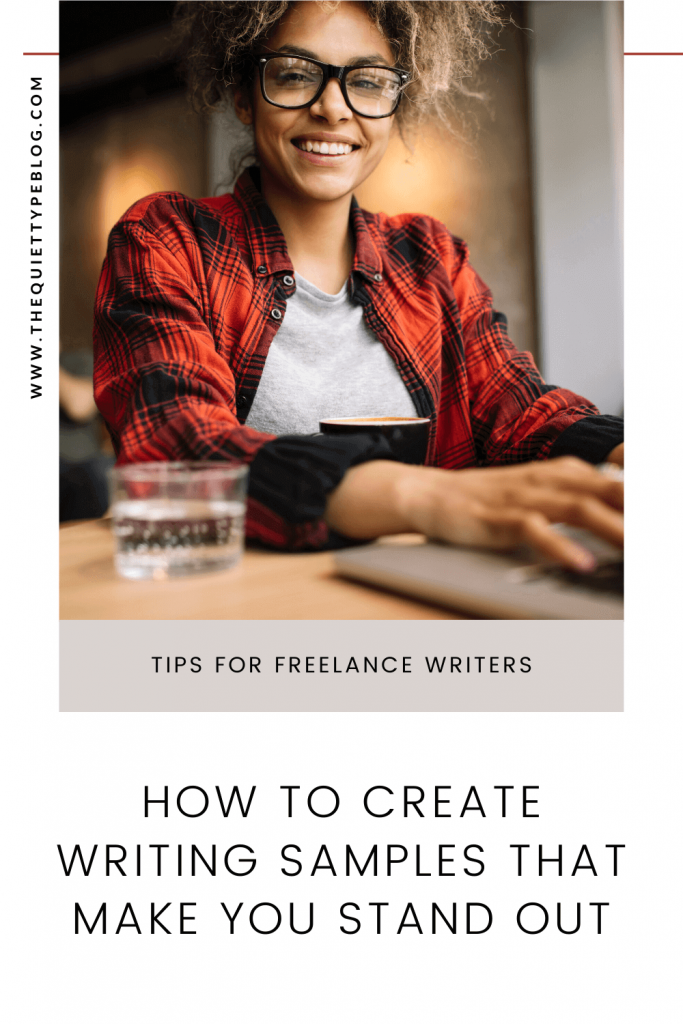 How to create writing samples that stand out